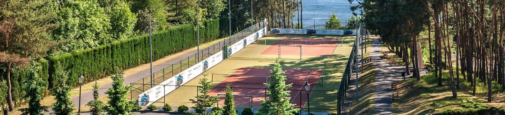 <h4><a href='/en/attractions/courts' >COURTS</a></h4><div class='item-intro'>The courts for the 'white sport' could never be missing among the fields of our Hotel. Here everyone can feel like Novak Djokovic or Maria Sharapova, even if for just an hour or two. 